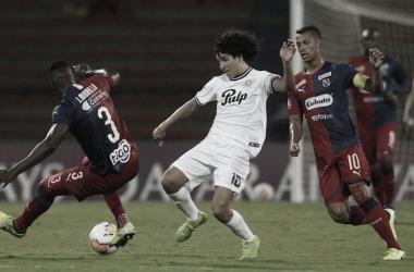 Puntuaciones en Independiente Medellín luego de la derrota ante Libertad de Paraguay