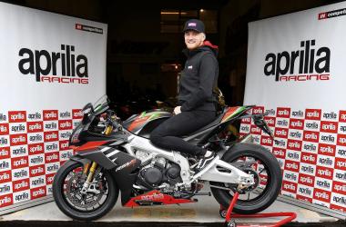 Fraser Rogers en su Aprilia del Campeonato Pirelli National Superstock 2021. Foto. Facebbok oficial de Rogers