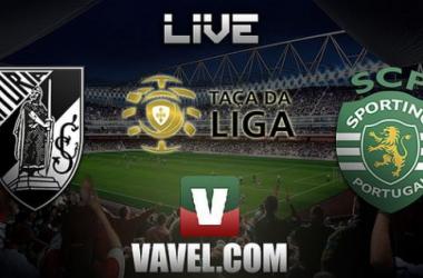 Vitória Guimarães x Sporting    na Taça da Liga