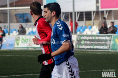 Narváez en un partido con el Socuéllamos | Foto VAVEL: Rocío Hellín