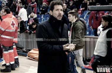 """Simeone: """"Me quedo con que estamos clasificados para cuartos"""""""