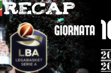 Legabasket: risultati e tabellini della sedicesima giornata