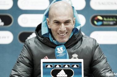 """Zinedine Zidane: """"Vamos a intentar hacer un gran partido contra el Athletic"""