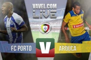 Resultado Porto - Arouca en la Liga Portuguesa 2015 (1-0)