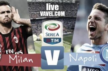 Finale Milan - Napoli in diretta, LIVE Serie A 2017/18 (0-0): Reti bianche a San Siro!