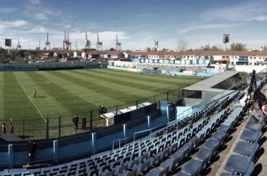"""<p class=""""MsoCaption"""" align=""""center"""">El encuentro se disputará en el estadio de San Telmo: Dr. Osvaldo Baletto</p>"""