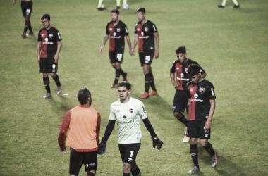"""La """"lepra"""" quedó eliminada de la Copa Argentina ante Sarmiento y no levanta cabeza. Fuente: (La Capital)"""
