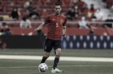 Busquets en el partido del pasado viernes contra Portugal / FOTO: EFE
