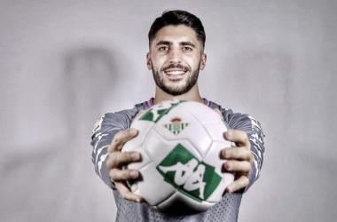 Rui Silva, nuevo portero del Real Betis Balompié. Foto: ruisilva_1