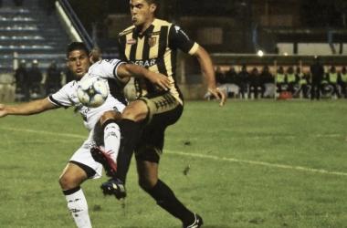 10/04/2017 Ultimo enfrentamiento en Tandil. Victoria de Santamarina 1 - 0 ante All Boys