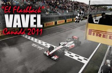 Flashback Canadá 2011: Jenson Button, el rey de la lluvia | Fotomontaje: Martín Velarde (VAVEL)