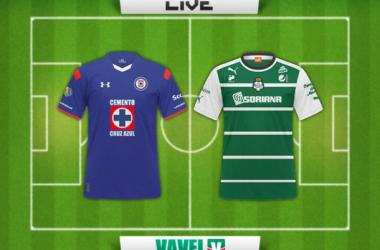Resultado Cruz Azul - Santos Laguna en Clausura 2015 (1-0)