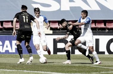 Godoy Cruz sufrió su segunda derrota consecutiva. Foto: El Litoral.