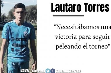 Lautaro Torres: ''Me gustaria ser convocado al plantel de Primera''