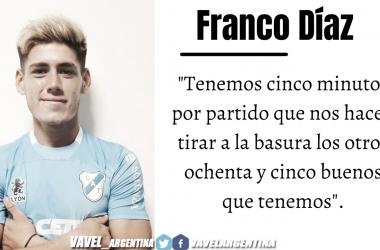Franco Diaz: ''Nos falta afinar la punteria''