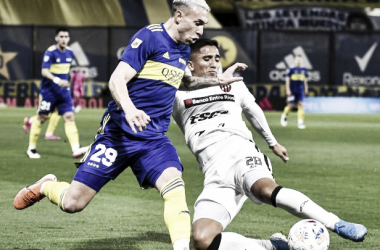 Boca Juniors 1 vs Patronato 0