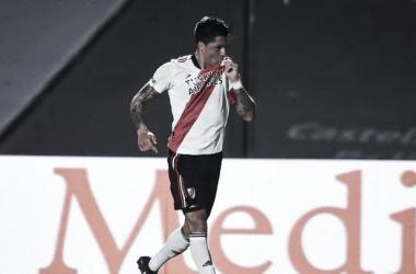 Enzo Pérez marcó el gol de la victoria. (Foto:web)