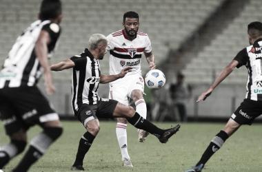 Gols e melhores momentos de São Paulo x Ceará (1-1)