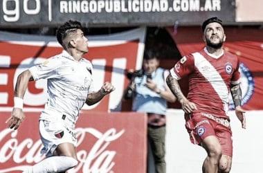 Argentinos Jrs 3- 1 Colón. Partido disputado en. el Estadio Diego Armando Maradona.