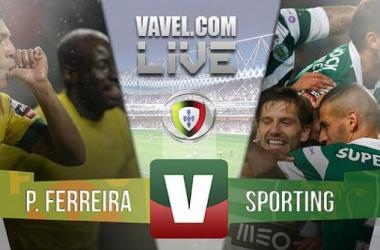 Paços Ferreira x Sporting    (1-1)