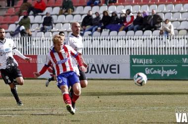 El jugador del filial Samu Sáiz se marcha cedidoal Huesca