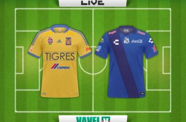 Resultado Tigres - Puebla en Clausura 2015 (1-0)