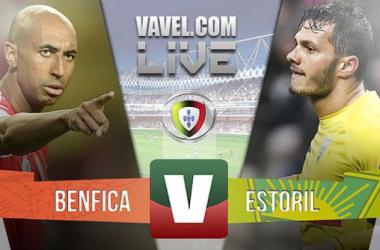 Benfica x Estoril    na Liga NOS (6-0)