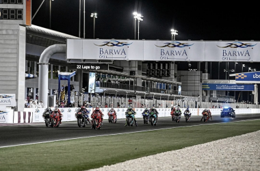 Parrilla de salada en el GP de Barwa de Qatar / Fuente: Instagram