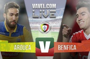 Arouca x Benfica na Liga NOS (1-0)