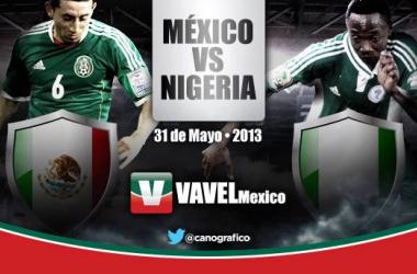 México - Nigeria: A recuperar la confianza