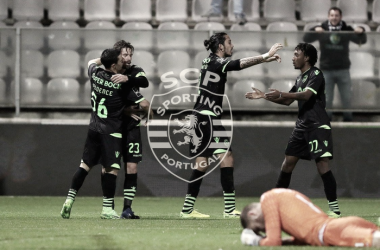 Sporting venceu o Desportivo de Chaves por 4-1 // Fonte: Facebook do Sporting CP