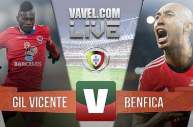 Resultado Gil Vicente x Benfica na Primeira Liga (0-5)