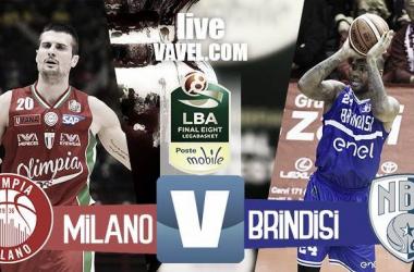 EA7 Milano - Enel Brindisi, Final Eight 2017 Coppa Italia basket (77-75)