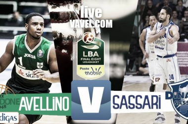 Sidigas Avellino - Banco di Sardegna Sassari, Final Eight 2017 Coppa Italia basket (68-69)