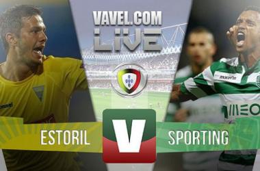Resultado Estoril x Sporting na Primeira Liga 2015 (1-1)