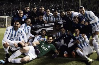 """BUSCANDO LA GLORIA. El """"Decano"""" quiere escribir un capítulo histórico en la Copa Argentina. Foto: Prensa Copa Argentina"""