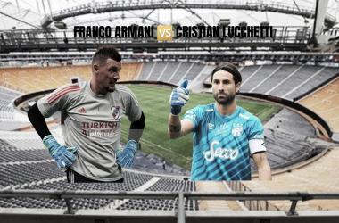 ESPECIAL. Armani y Lucchetti, será un duelo especial en la noche de La Plata. Foto: Nicolás Castillo-periodista de Vavel Argentina-