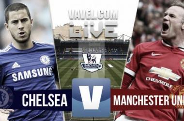 Resultado Chelsea - Manchester United en la Premier League 2015 (1-0)