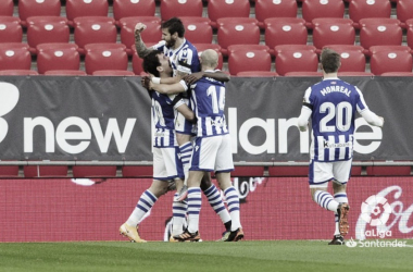 Athletic Club - Real Sociedad: puntuaciones de la Real Sociedad en la jornada 16 en LaLiga