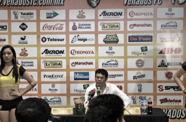 EL estratega de los Leones Negros habló después del empate | Foto: Venados FC