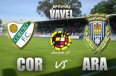 Coruxo FC - Arandina CF: a romper el maleficio