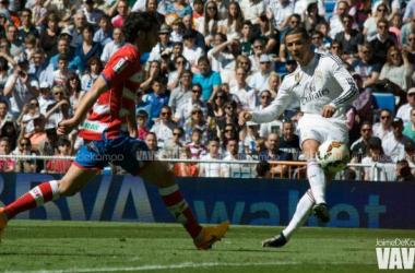 Cristiano, octavo máximo goleador histórico en Liga