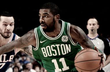La NBA multa a Irving por usar lenguaje inapropiado contra un aficionado