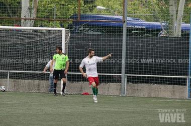Jorge Félix, máximo goleador del Majadahonda esta pretemporada y uno de los fichajes rayistas. (Foto: Imanol Ibeas).