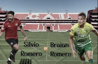 ATRÁCTIVO. Los Romeros, estarán mano a mano, un duelo especial entre goleadores. Foto: Vavel Argentina