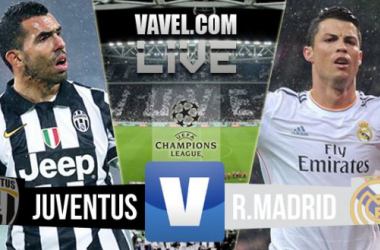 Juventus vs Real Madrid Live Text Commentary of UEFA Champions League Scores 2015