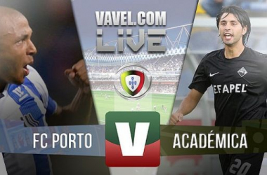 Resultado Porto x Académica na Liga NOS 2015 (3-1)
