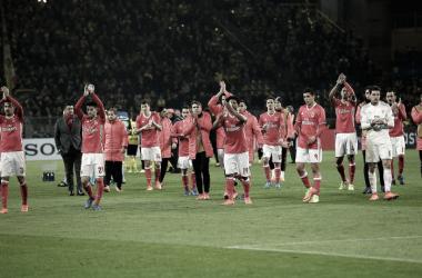 O Benfica despediu-se da Champions // Foto: Facebook do SL Benfica
