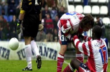 Oviedo, testigo del pasado más triste del Atlético de Madrid