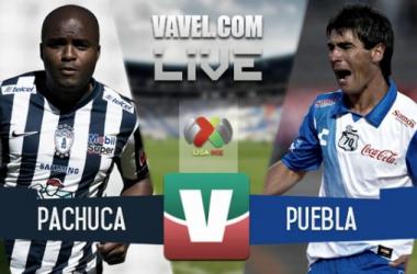 Resultado Pachuca - Puebla en Liga MX 2015 (2-1)